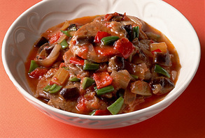 豚肉と夏野菜のラタトゥィユ風
