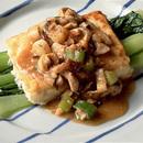 豆腐ステーキのみそソース