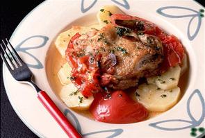 鶏肉とじゃがいものオーブン焼き