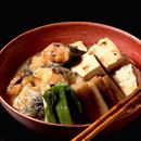 あじと焼き豆腐の甘辛煮