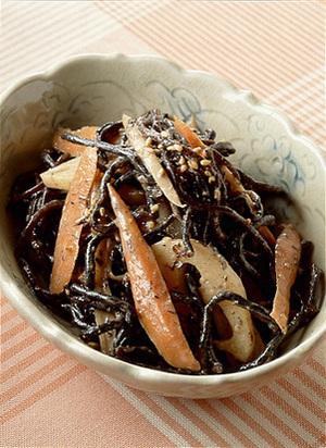 ひじきの根菜サラダ