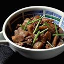 牛肉とごぼうのみそ煮