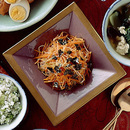 にんじんとねぎのピリ辛サラダ