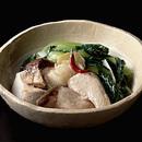 ぶりと青梗菜の中国風煮