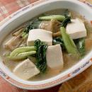 豆腐とザーサイのスープ煮