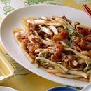 白菜と豚肉のピリ辛炒め