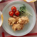 豚肉の厚揚げ巻天ぷら
