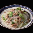 豚肉と白菜、春雨のうま煮