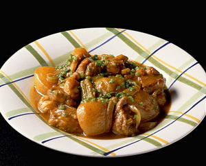 鶏肉と野菜のカレースープ煮