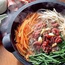 すき焼き風スタミナ鍋
