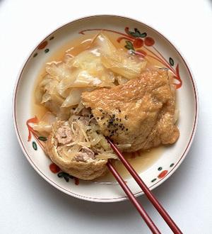 ジャンボ福袋煮
