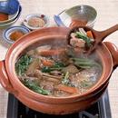 野菜たっぷりの鶏鍋