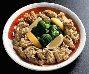 かきの中国風サクサク天ぷら