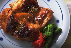チキンの照り焼き