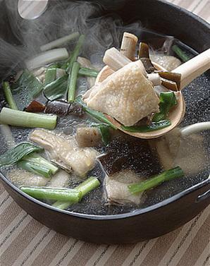 鶏肉とごぼうのスープ煮