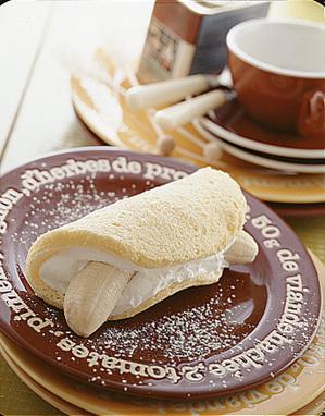 バナナオムレツケーキ