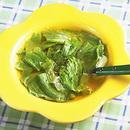 レタスのシャキシャキスープ