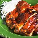 鶏もも肉のみそだれ照り焼き