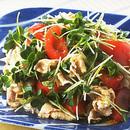 豚しゃぶとトマトのサラダ