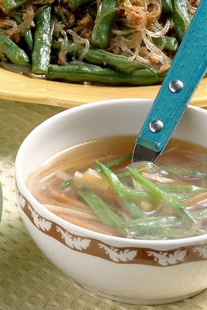 シャキシャキ根菜スープ