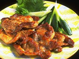 豚肉の梅風味ソテー