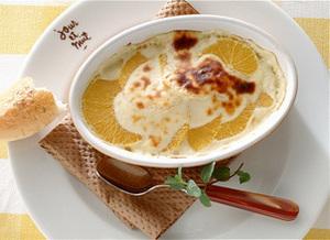 オレンジのクリームチーズ焼き