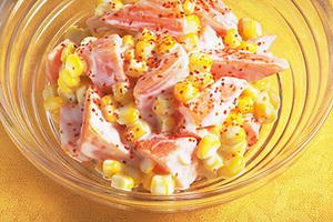 にんじんとコーンのサラダ
