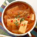 キムチと豆腐のスープ