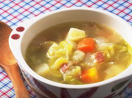 具だくさんの野菜スープ
