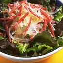 サラミと玉ねぎのサラダ