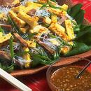 卵と春雨の中華風サラダ
