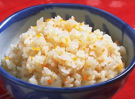 にんじんの炊き込みご飯