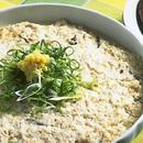 豆腐とひき肉の鉢蒸し