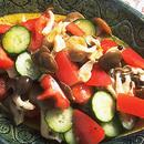 しめじとトマトの和風サラダ