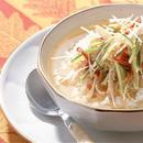 棒棒鶏のスープかけご飯