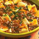 豆腐と豚肉のピリ辛煮