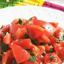 トマトと青じそのサラダ
