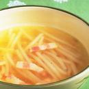 もやしとベーコンのスープ