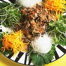 牛しゃぶの中国風サラダ