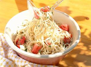 フレッシュトマトのスパゲティ