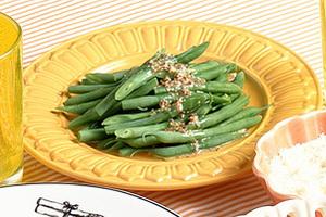 いんげんのマスタード風味サラダ