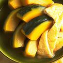 かぼちゃと油揚げの含め煮
