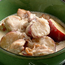 さつまいもと鶏肉のクリーム煮