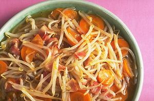 もやしの中国風スープ煮