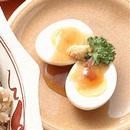 ゆで卵のあんかけ