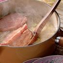 白菜とハムのスープ煮
