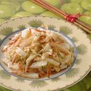白菜と桜えびの炒めもの