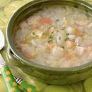白菜とチキンのスープ