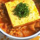 豆腐とキムチの煮もの