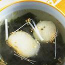 わかめと麩のスープ